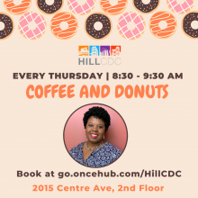 Coffee and Donuts with Marimba Milliones